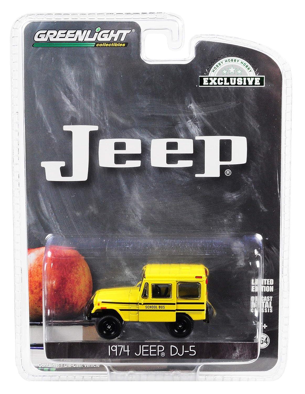 GreenLight 1//64 Jeep DJ-5 School Bus 30065
