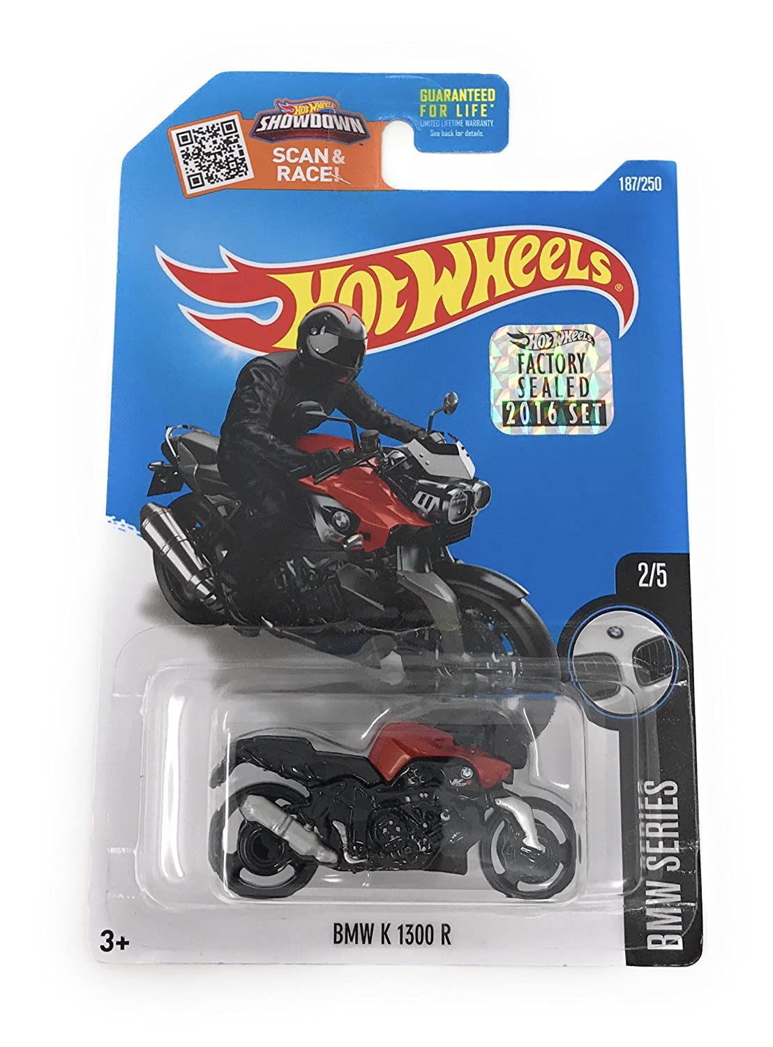 Hw hot wheels 2015 hw city 48 250 canyon carver police motorcycle - Amazon Com Hot Wheels 2016 Bmw Series Bmw K 1300 R Motorcycle 187 250 Black And Red Toys Games