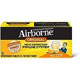 Airborne 清爽香橙泡腾片,36片-1000毫克维生素C -补充剂