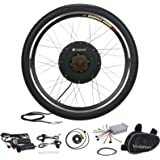"Voilamart 500W E-bike Kit 26"" 36V Rear Wheel Electric Bicycle Conversion Motor Kit Set Cycling Hub"