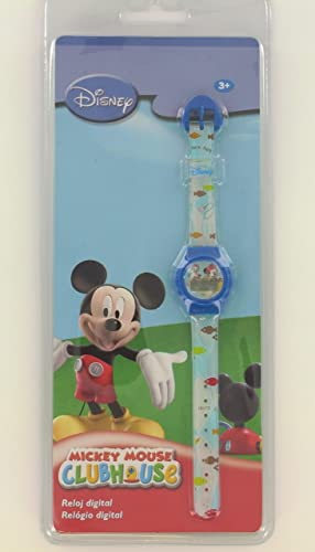 Disney Reloj Digital Niño Mickey Mouse Clubhouse azul: Amazon.es: Relojes