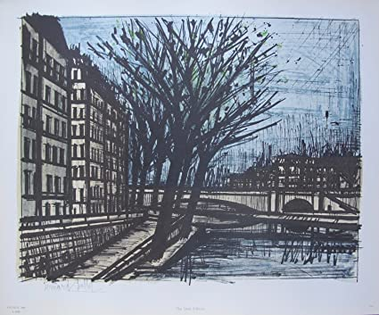 Phenomenal Amazon Com Wall Art By Bernard Buffet The Quai Danjou 1965 Download Free Architecture Designs Lectubocepmadebymaigaardcom