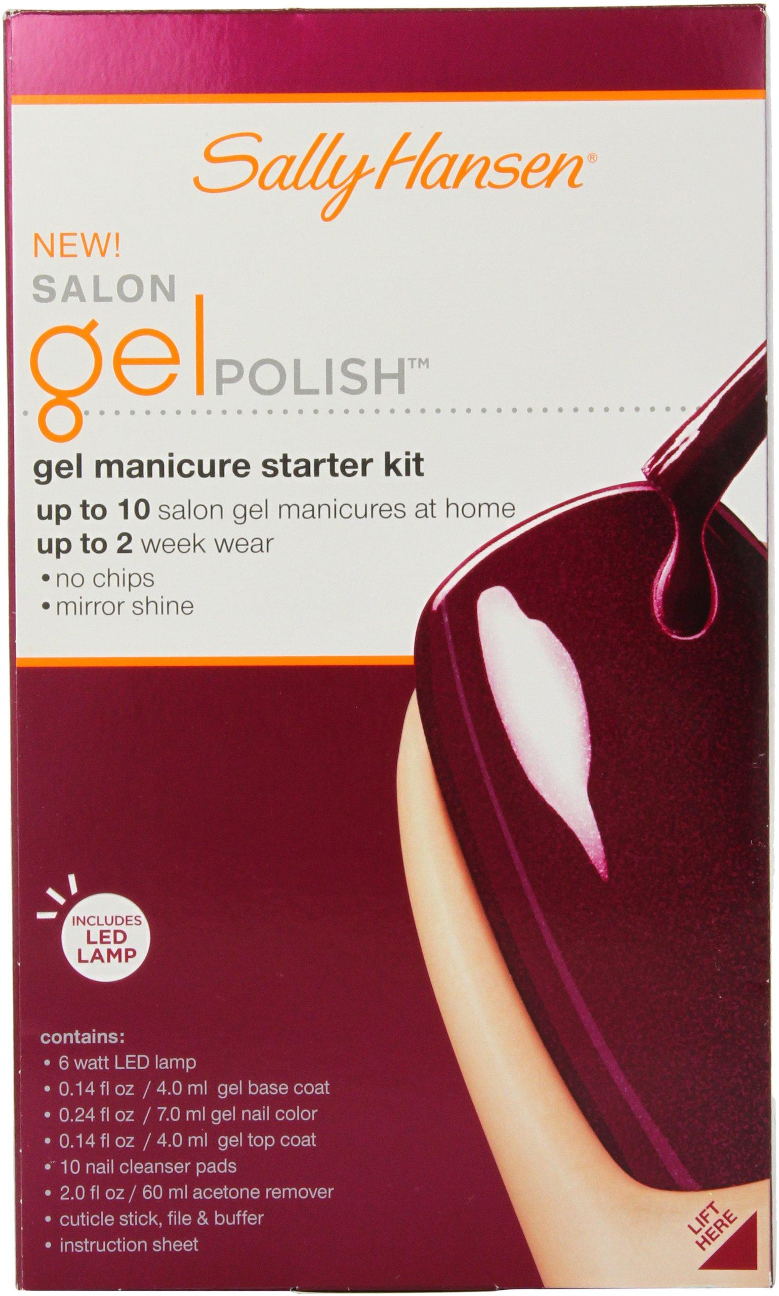 Sally Hansen Salon Pro Gel Starter Kit, Wine Not by Sally Hansen (Image #3)