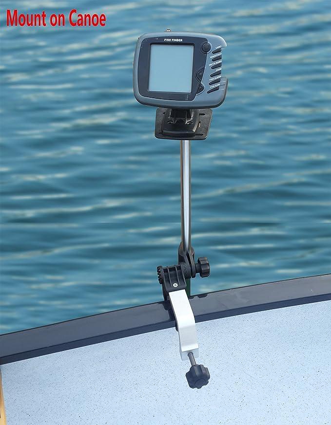 Marine Fish Finder Holder Fishfinder Base Rotated Scratch-resistant Durable
