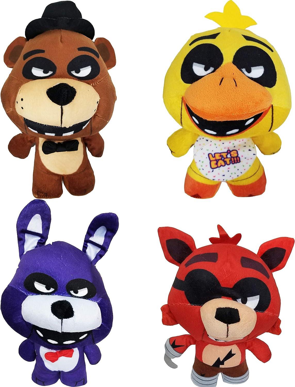 Koala Stuffed Animals Mini, Amazon Com Five Nights At Freddy S Plush Toy 4pc Set 10 Stuff Animal Plush Toy Toys Games