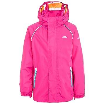 1085f09dc7b8 Trespass Kids  Lunaria Waterproof Rain Outdoor Jacket  Amazon.co.uk ...