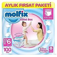 Molfix Külot Bez 6 Beden E.Large Aylık Fırsat Paketi 100 adet