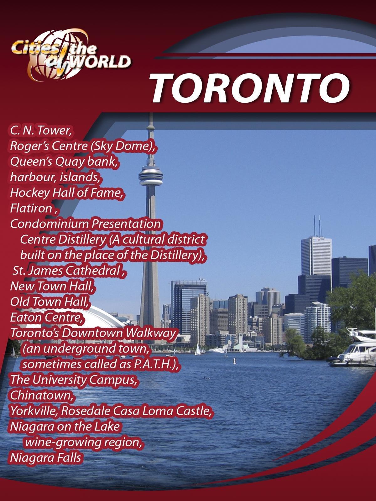 Cities of the World  Toronto Canada on Amazon Prime Video UK