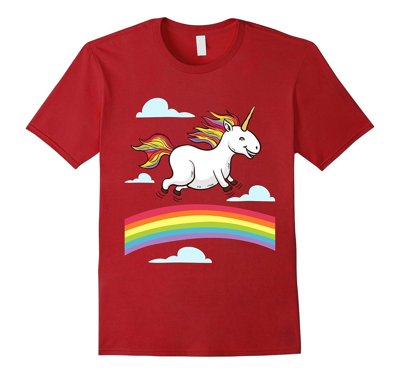funny unicorn dancing on rainbows gay lesbian pride t. Black Bedroom Furniture Sets. Home Design Ideas