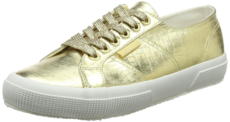 Superga Damen 2750 Cotmetembos Sneaker Sneaker Sneaker Gold (Gold) 306a9e