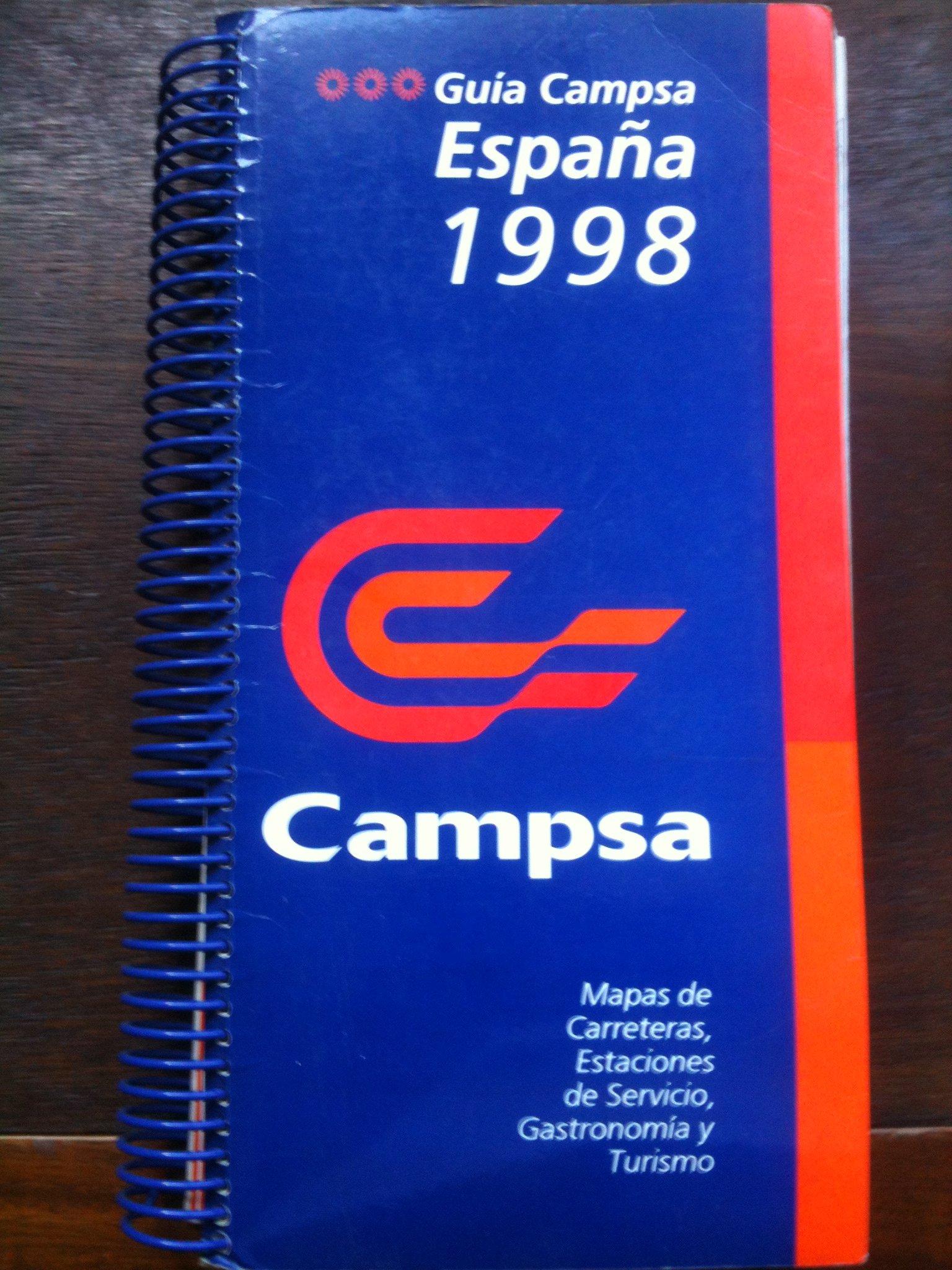 GUÍA CAMPSA,ESPAÑA,1998-MAPAS DE CARRETERAS,GASOLINERAS,GASTRONOMÍA Y TURISMO: Amazon.es: campsa: Libros