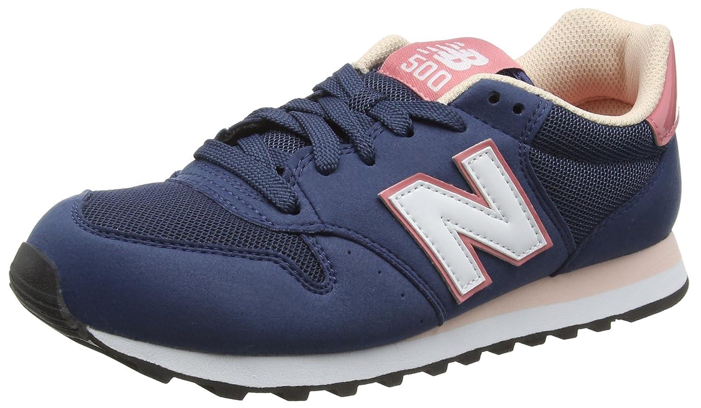 New Balance Gm_gw500v1, Zapatillas para Mujer 38 EU Azul (Dark Blue/Pink)