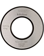 """Mitutoyo 177-184 Setting Ring, 1.0"""" Size, 0.59"""" Width, 2.09"""" Outside Diameter, Plus /-0.00004"""" Accuracy"""
