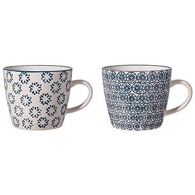 Bloomingville mugs Kristina 2 styles