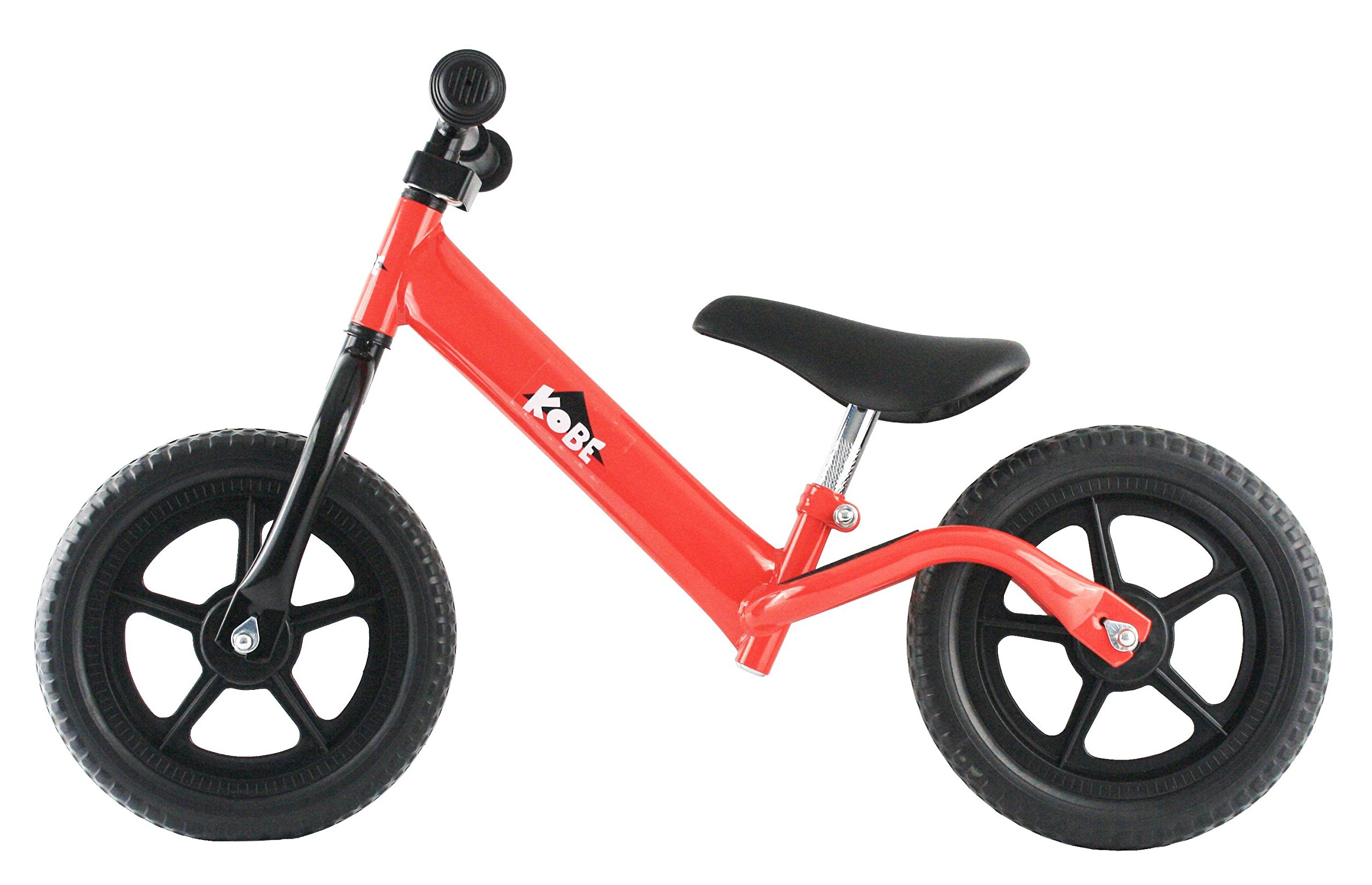 Kobe Metal Balance Bike - RED - Run Bicycle - Toddler - No pedal