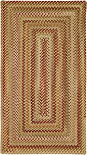 product image for Capel Manchester Gold Hues Multi Rug Rug Size: Concentric 3' x 5'