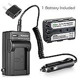 Kastar NPFM50 Battery (1-Pack) + Charger for Sony NP-FM30 NP-FM50 NP-FM51 NP-QM50 NP-QM51 NP-FM55H and CCD-TR DCR-PC DCR-TRV DCR-DVD DSR-PDX GV HVL Series Camcorder (Search The Model in Description) (Color: 07 (COMBO: 1 BATTERY + 1 NORMAL CHARGER KIT), Tamaño: 1 Charger + 1 Battery)