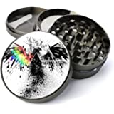 Expression Gifts 5 Piece Eagle with Prism Spice Tobacco Herb Grinder with Pollen/Keef Catcher, X-Large
