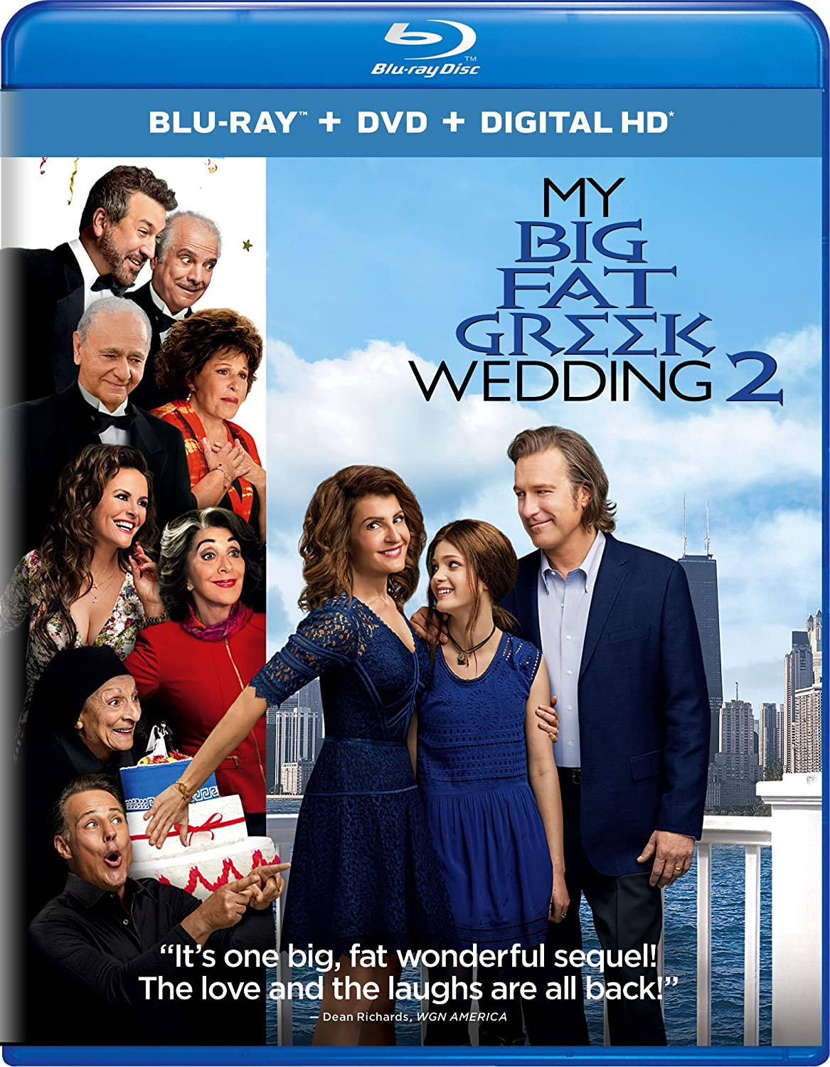 My Big Fat Greek Wedding 2.Amazon Com My Big Fat Greek Wedding 2 Blu Ray Nia