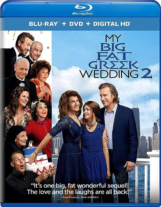 Amazon Com My Big Fat Greek Wedding 2 Blu Ray Nia Vardalos Kirk Jones Movies Tv