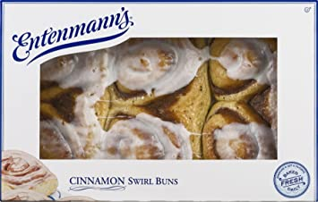 Amazon entenmanns cinnamon swirl buns grocery gourmet food entenmanns cinnamon swirl buns publicscrutiny Choice Image