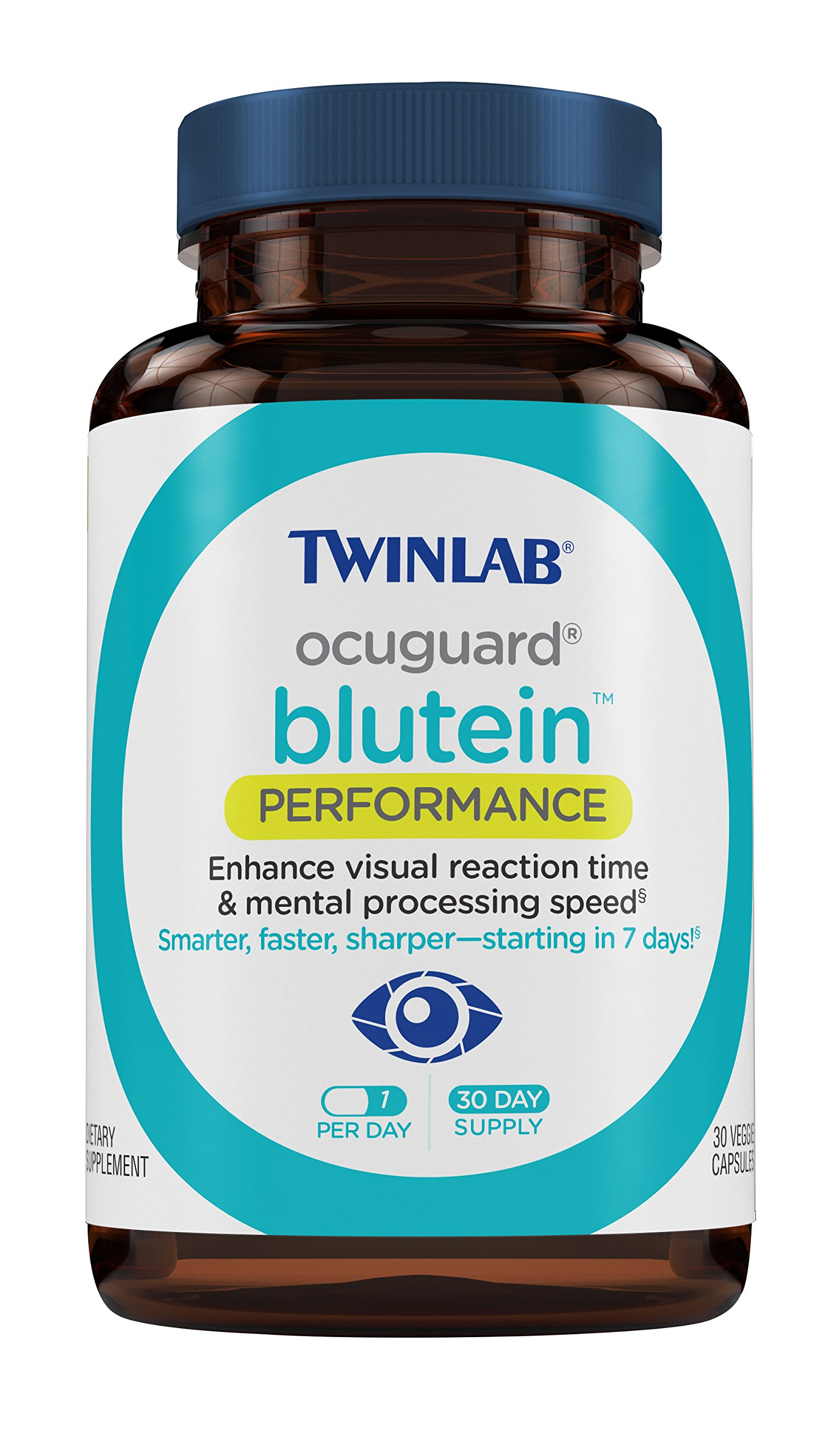 Twinlab Ocuguard Blutein Performance Capsules, 30 Count