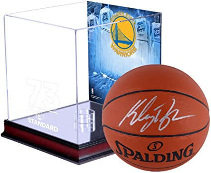 d5bbdc9b7915e Klay Thompson Golden State Warriors Autographed Indoor/Outdoor ...