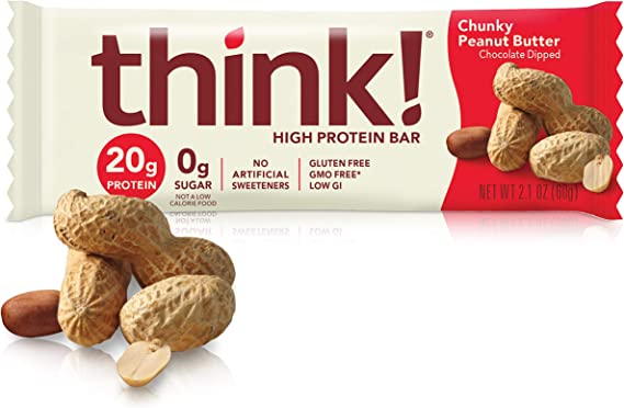 think! (thinkThin) High Protein Bars - Chunky Peanut Butter