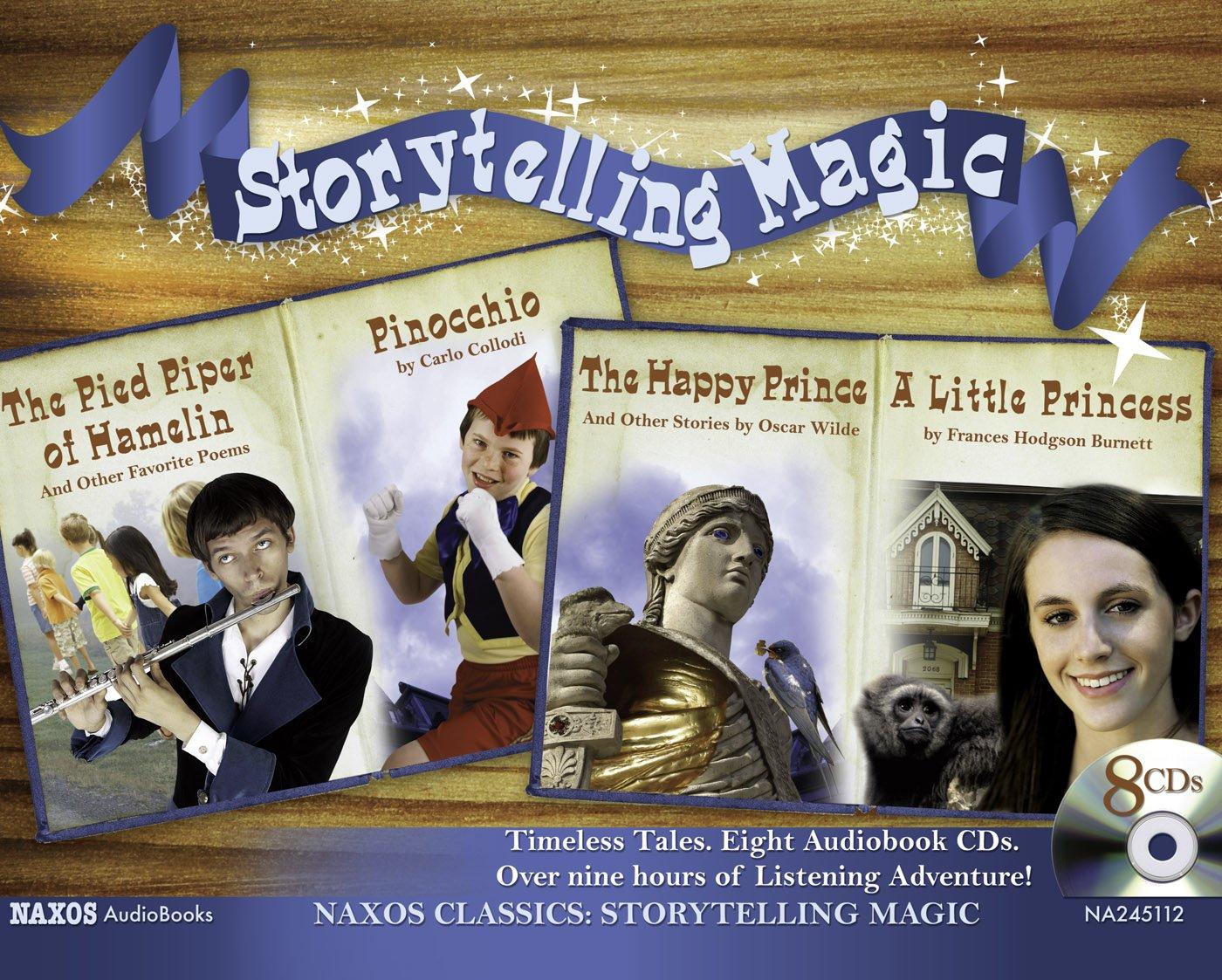 Read Online Storytelling Magic (The Pied Piper of Hamlin / Pinocchio / The Happy Prince / A Little Princess) pdf epub