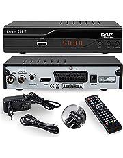 Strom 505 Decodificador HD TDT –  / HDMI et Scart / H.264 / H.265 HEVC / DVBT - T2 / MPEG2 / MPEG4
