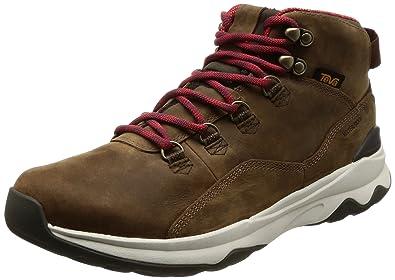 19d8ab1576b28c Teva Men s Arrowood Utility Mid Boots Brown 8.5 D(M) US