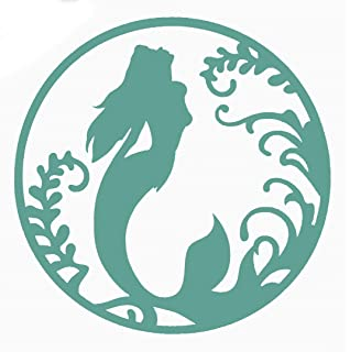Mermaid vinyl sticker for skateboard luggage laptop tumblers car