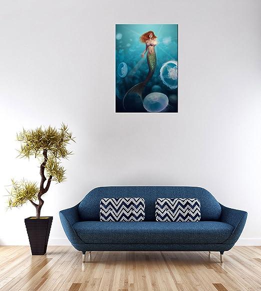 Amazon.com: ode-rin arte lona impresiones de arte moderno ...