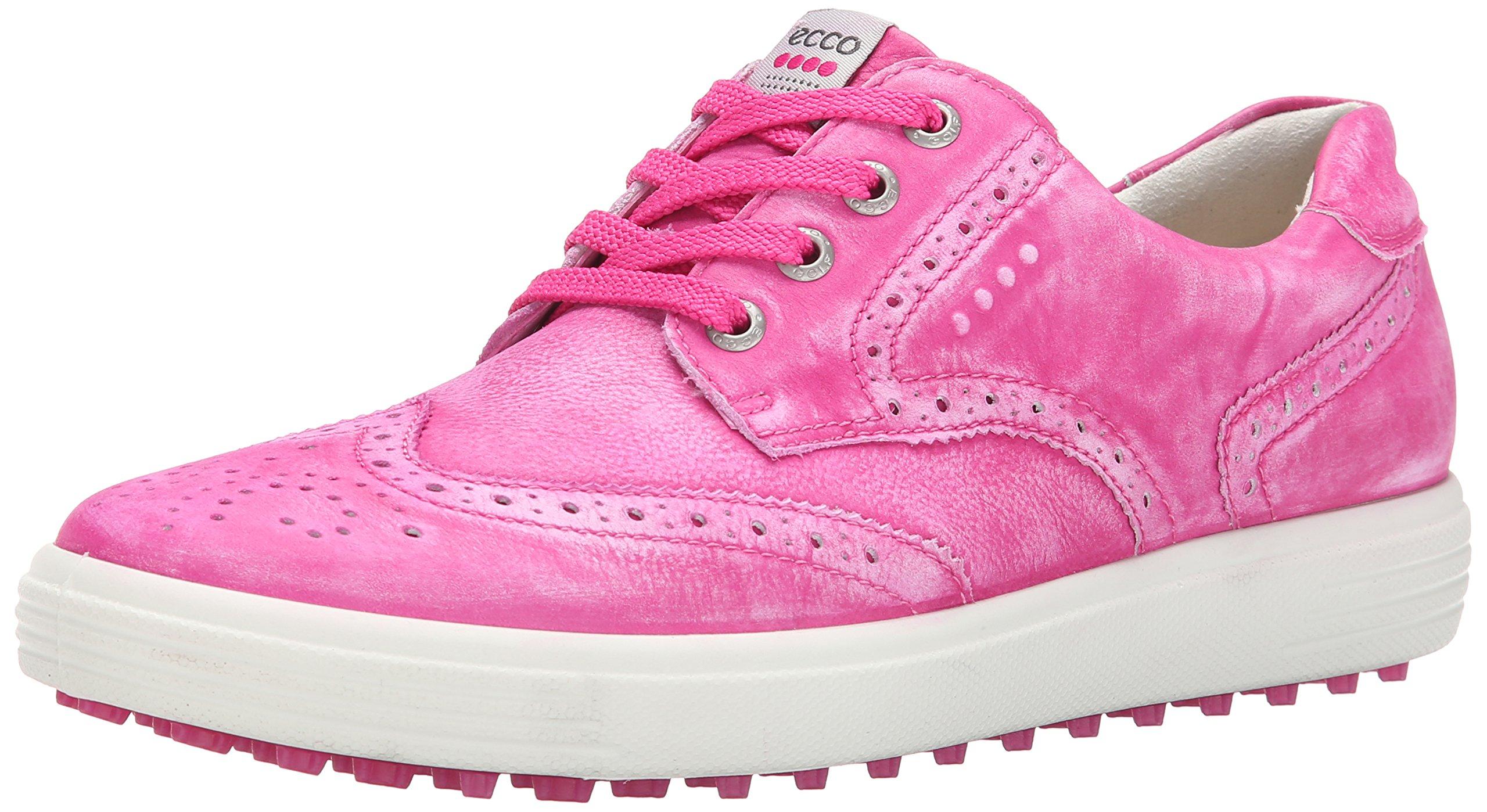 ECCO Women's Casual Hybrid Golf Shoe, Candy, 37 EU/6-6.5 M US