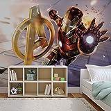Fotomurale da Parete 3366VEXXL - Marvel Iron Man - XXL - 312cm x 219cm - 3 Strisce - Carta da murale di prima qualità 130gsm EasyInstall