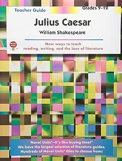 Julius caesar teaching guide novel lesson unit for teaching julius julius caesar teacher guide by novel units inc fandeluxe Images