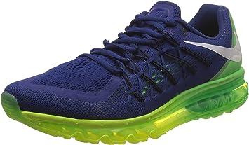 Nike hombre Air Max 2015 running Shoe, azul verde, 8 D(M) US: Amazon.es: Zapatos y complementos