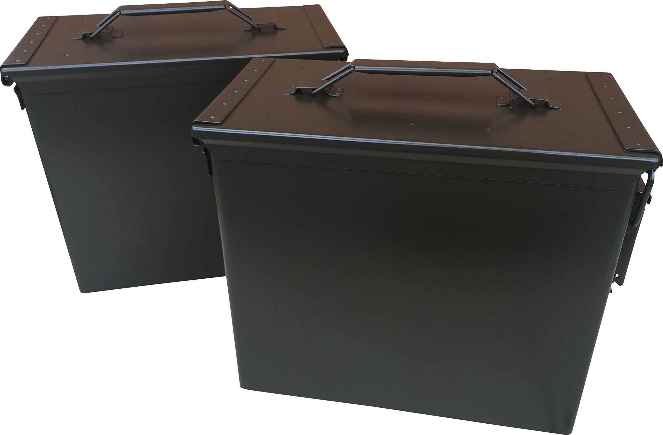 TALL 50 CAL AMMO CAN (2) by Ammo Can Man
