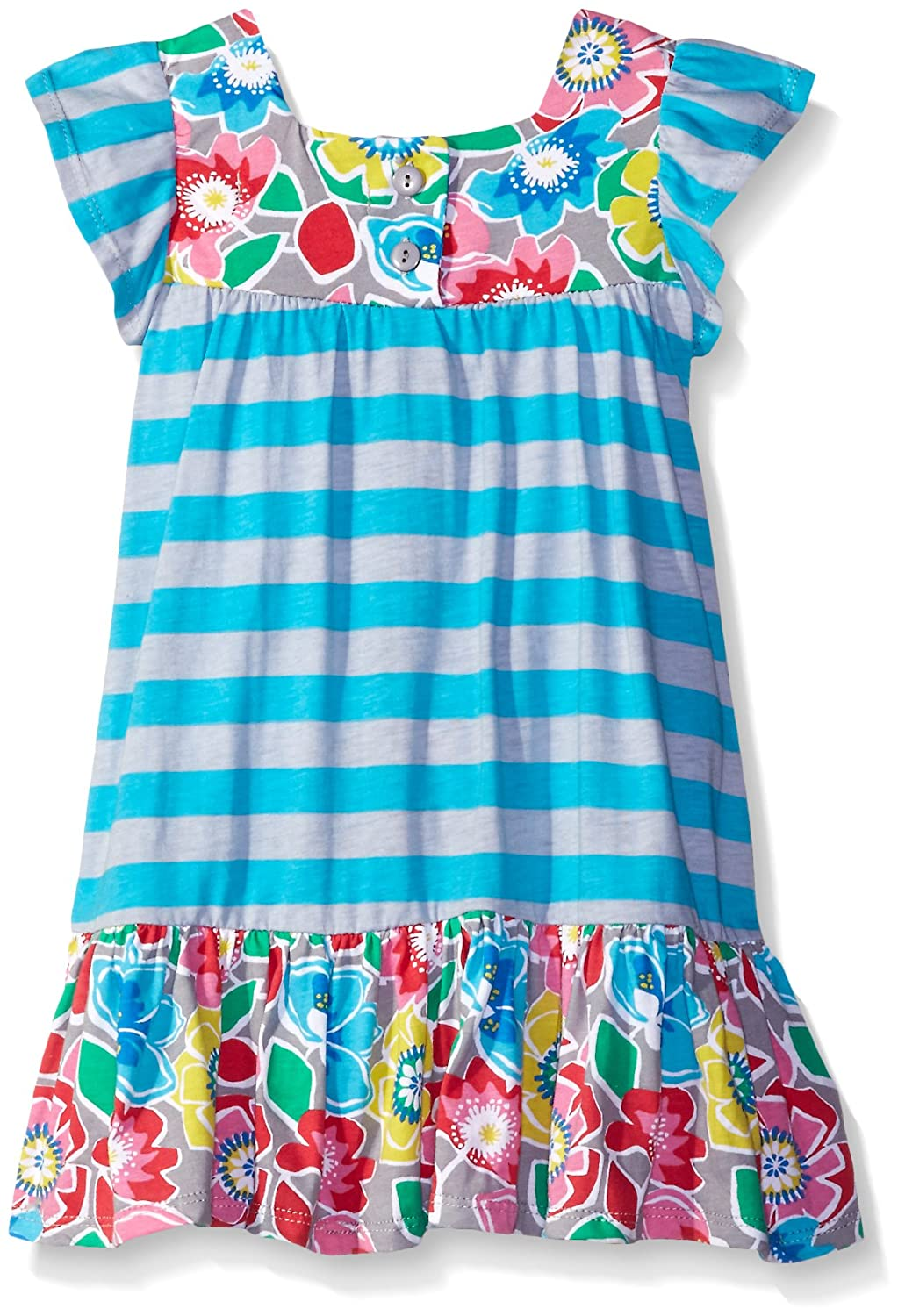 Jelly the Pug Girls Addy Block Floral Knit Set