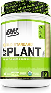 Optimum Nutrition Gold Standard 100% Organic Plant-Based Protein