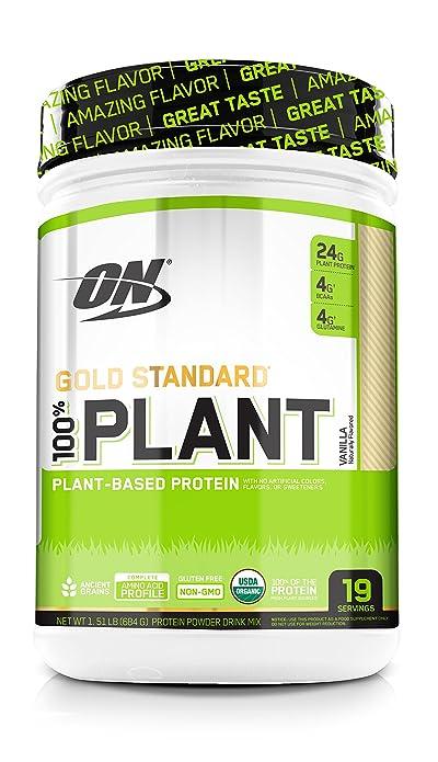 Optimum Nutrition Gold Standard 100% Plant Based Protein Powder