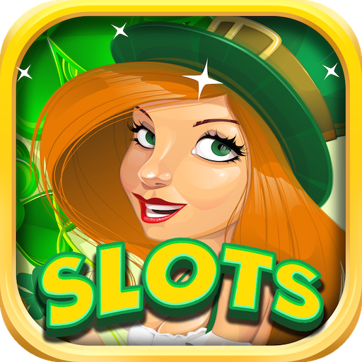 Slots Lucky Golden Treasure of Fun Free - St. Patty's Irish Journey to Gold Casino for Android & Kindle Fire (1up Casino Kindle Fire)