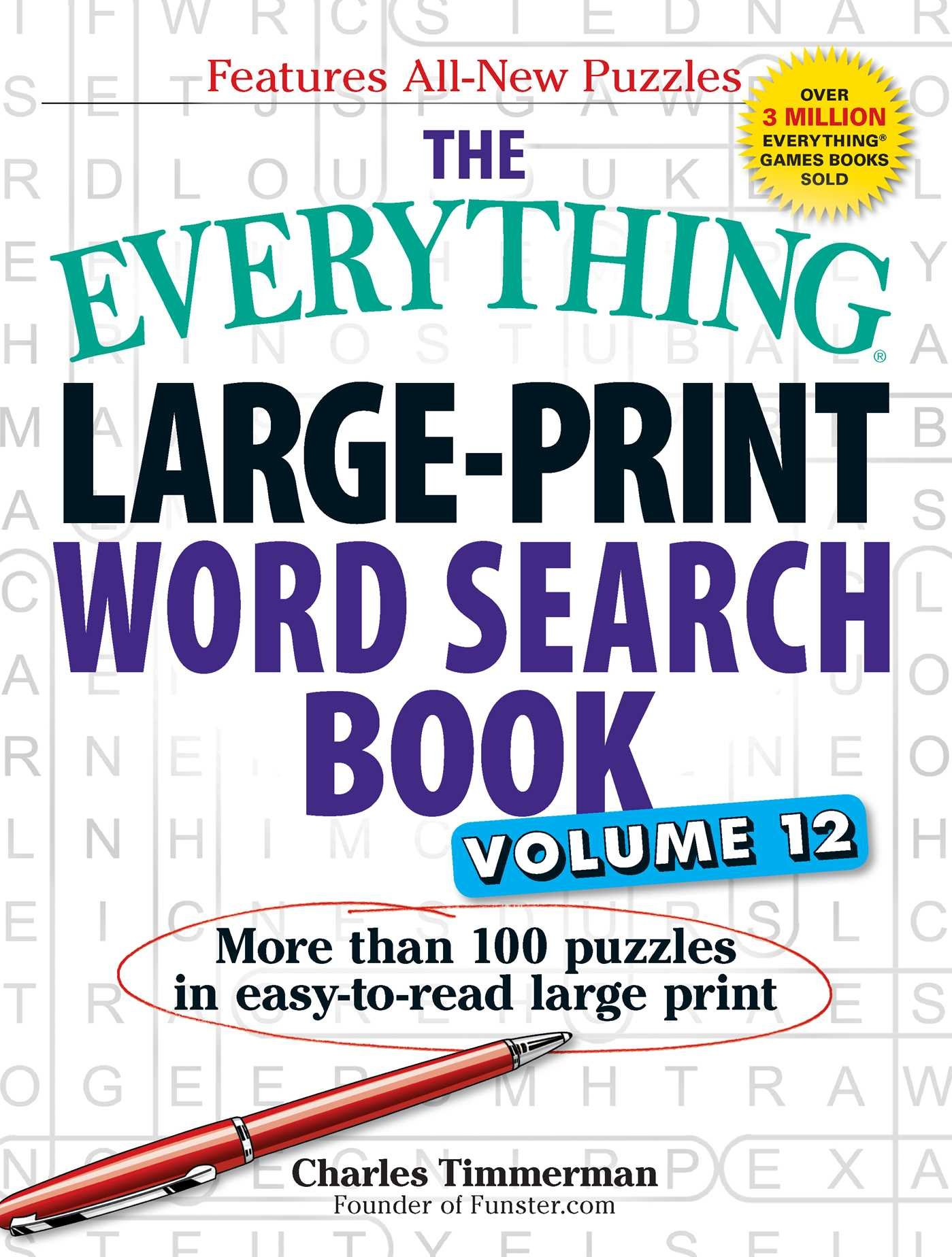 Everything Large Print Search easy read product image