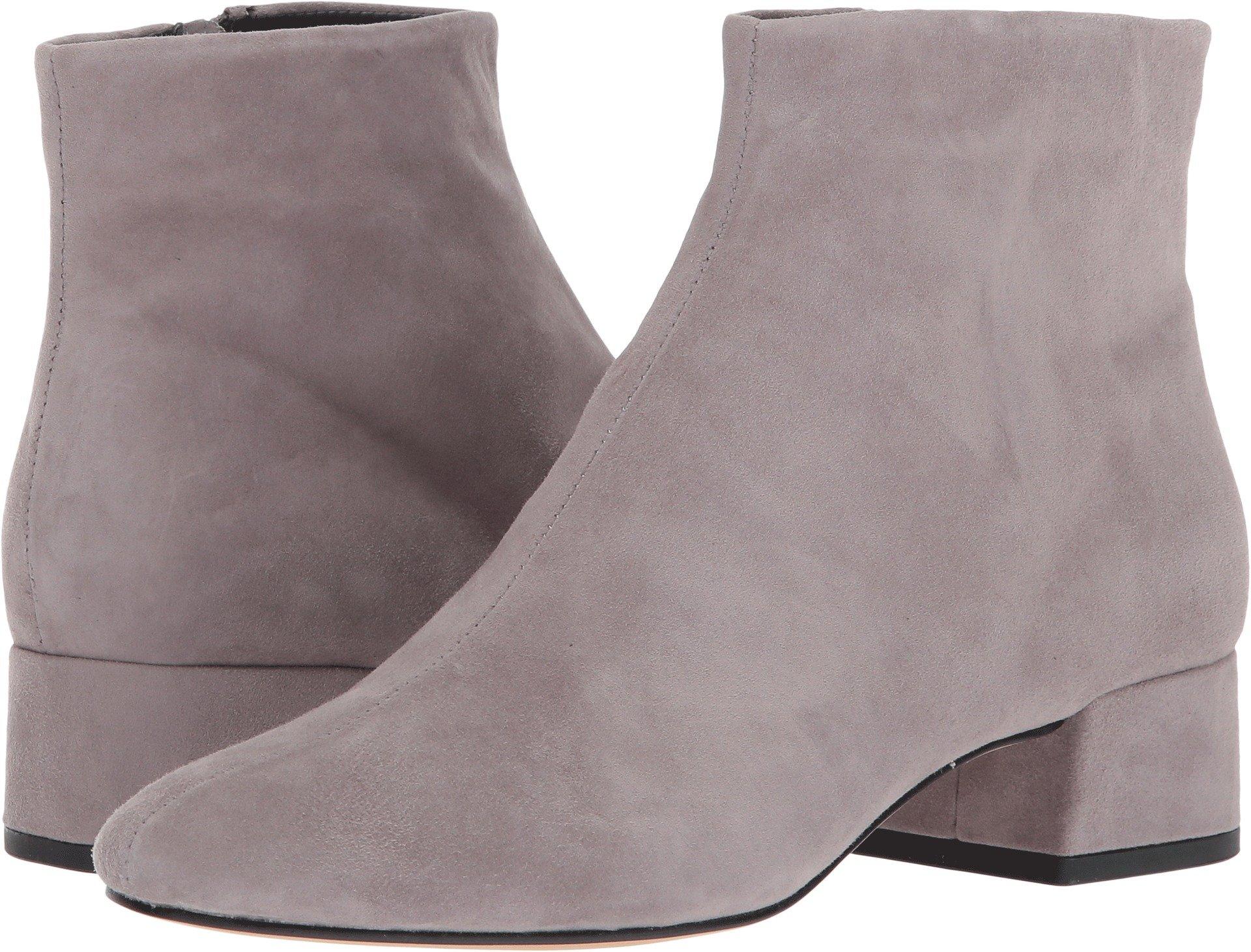 Dolce Vita Women's Jac Ankle Boot, Smoke Suede, 8.5 Medium US
