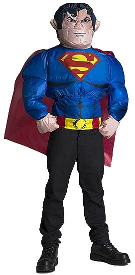 Rubies Disfraz Hinchable de Superman para Hombre: Amazon.es ...