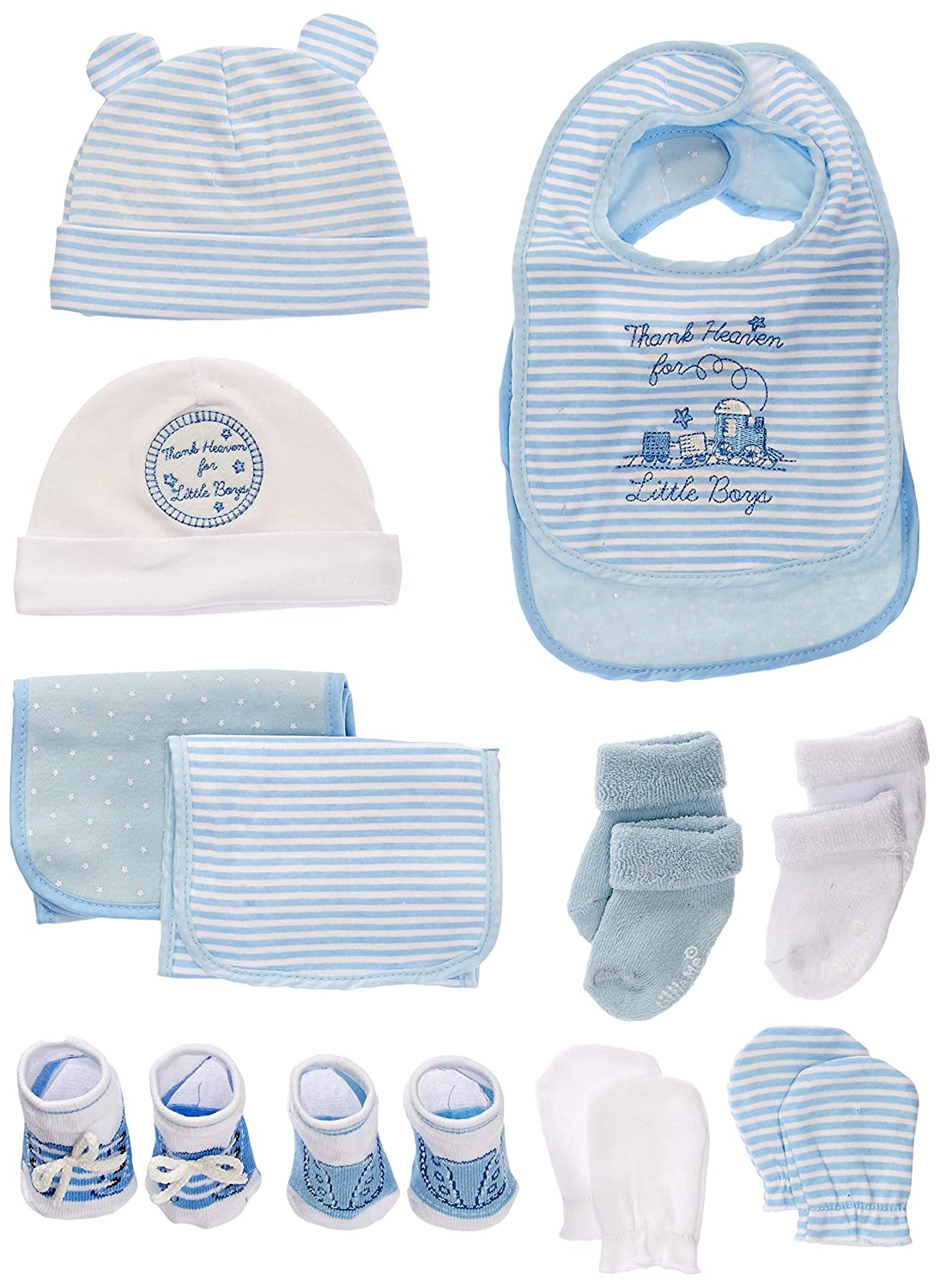 020f636ec Amazon.com   Newborn Baby Essentials Gift Set for Boys and Girls ...