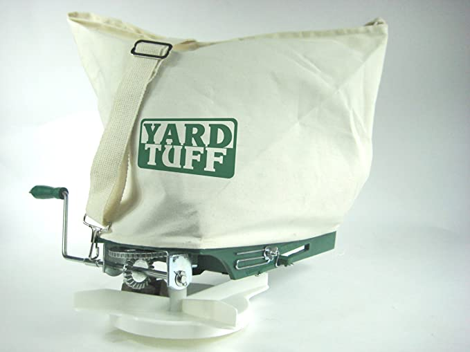 Yard Tuff YTF-25SS Shoulder Spreader - Best for Small Gardens