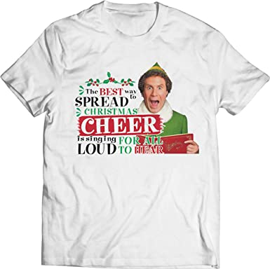 The Best Way to Spread Christmas Cheer Short-Sleeve Unisex T-Shirt