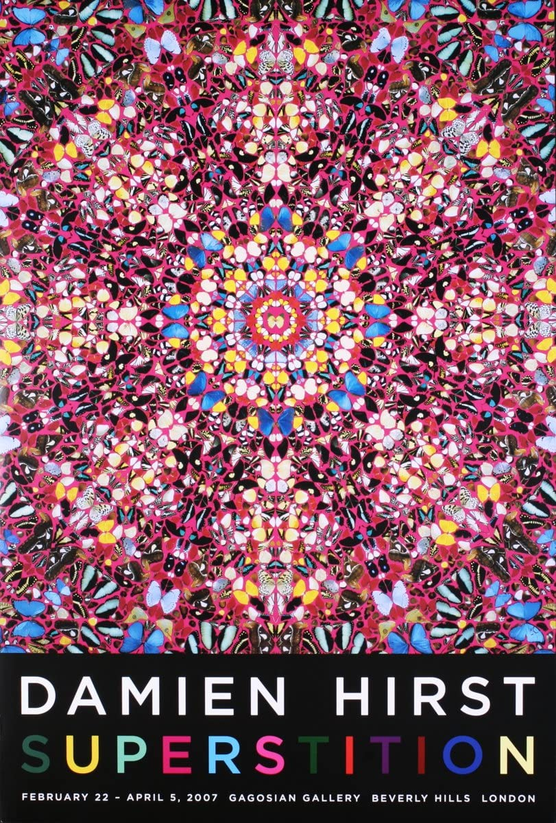 Damien Hirst-Superstition-2007 Poster