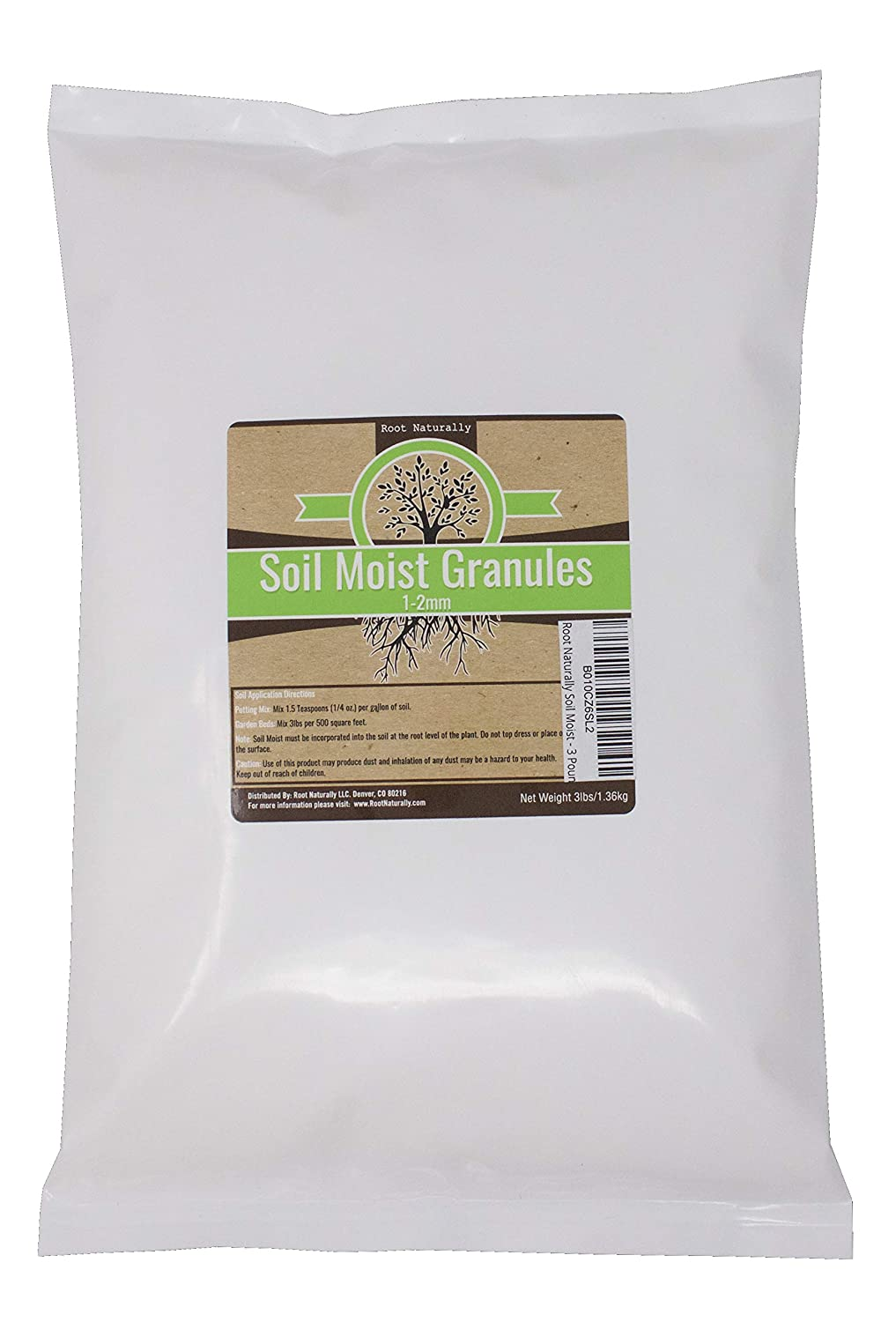 Root Naturally Soil Moist - 3 Pounds